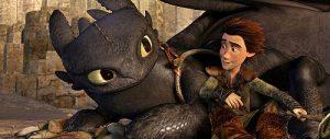 ヒックとドラゴン仲良し