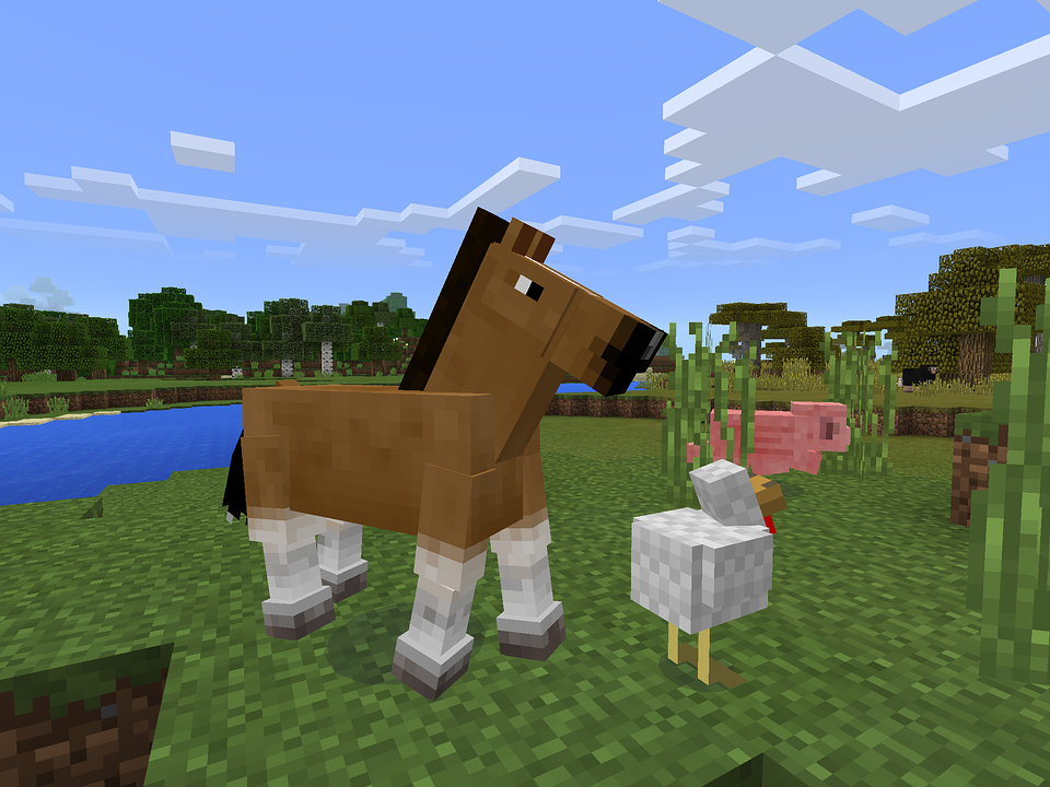 マインクラフトの馬