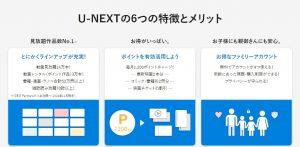 U-next特徴1