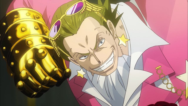 one piece film gold あらすじ